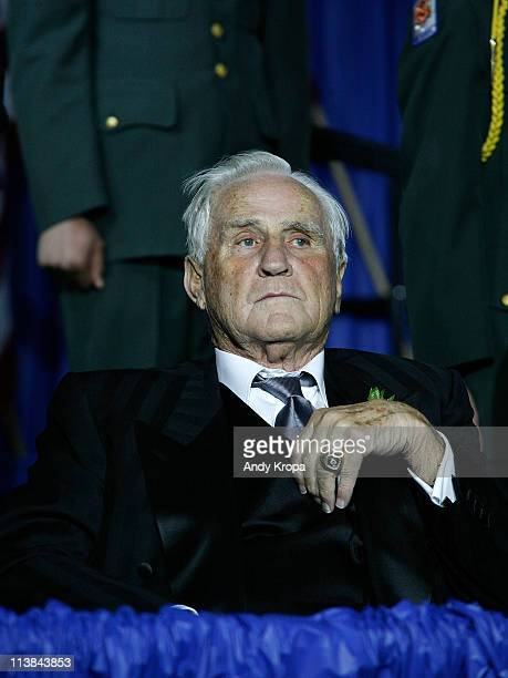 Don Shula attends the 2011 Ellis Island Medals Of Honor Ceremony Reception on Ellis Island on May 7 2011 in New York City