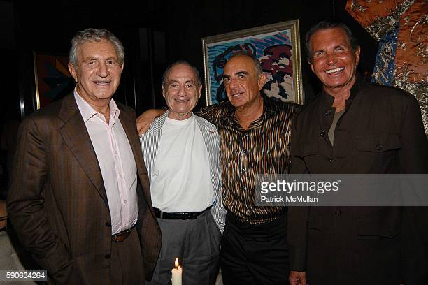 Don Soffer Lee Wolfberg Robert Shapiro and George Hamilton attend An Evening with Ivana Trump hosted by Nikki Haskell at Nikki Haskell's Penthouse on...