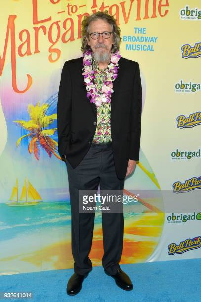 Don Sparks attends the Broadway premiere of 'Escape to Margaritaville' the new musical featuring songs by Jimmy Buffett at the Marquis Theatre on...