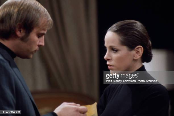 Don Stroud Louise Sorel appearing on the ABC tv series 'The Wide World of Mystery' episode 'Nightmare Step'