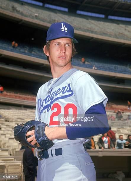 Don Sutton of the Los Angeles Dodgers poses before an MLB game at Shea Stadium in Flushing, New York. Don Sutton played for the Los Angeles...