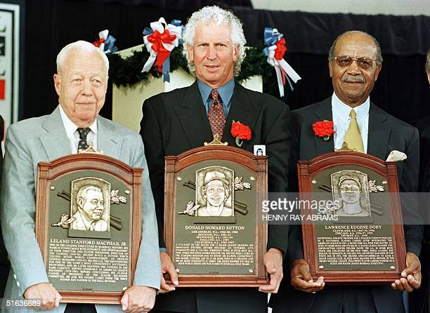 Don Sutton the pitcher who won 324 games and struck out 3574 batters in his 23year major league career Larry Doby the second AfricanAmerican to play...