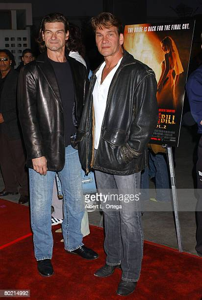 Don Swayze and brother Patrick Swayze