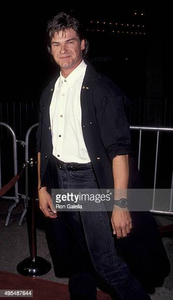 Don Swayze attends the premiere of City of Joy on April 7 1992 at the Cineplex Odeon Cinema in Century City California