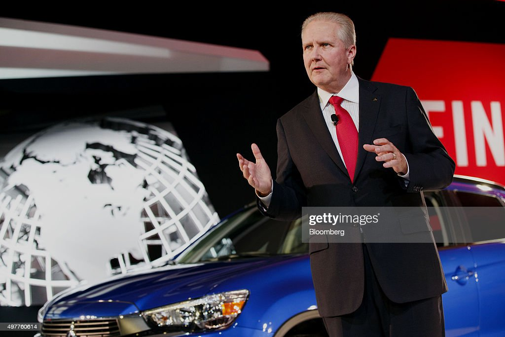 Don Swearingen Executive Vice President Of Mitsubishi Motors North America  Inc Speaks During The Los Angeles