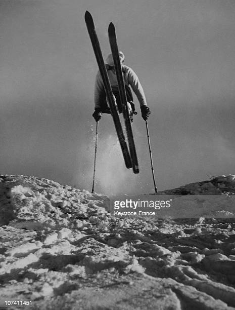 Don Traynor, Skier At Lake Placid In Usa On December 28Th 1939