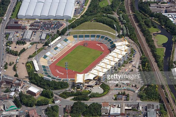 Don Valley Stadium Sheffield South Yorkshire 2007 Aerial view This athletics stadium was completed in 1990 to help host the World Student Games of...