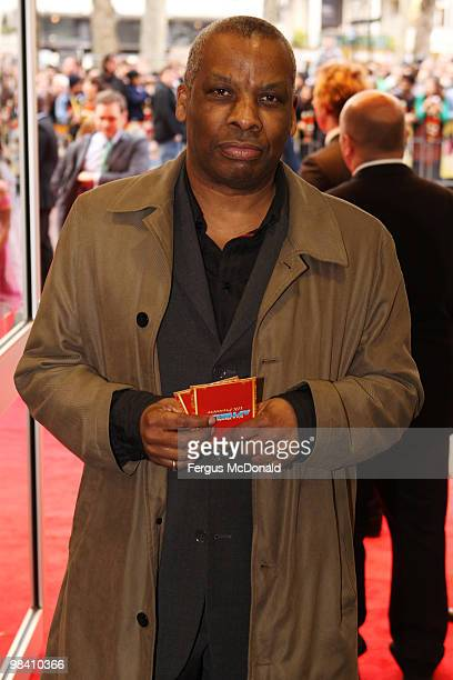 Don Warrington arrives at the UK premiere of It's A Wonderful Afterlife held at the Odeon West End on April 12 2010 in London England
