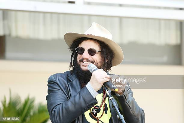 Don Was attends the Ringo Starr and John Varvatos collaboration announcement and birthday celebration event held at Capitol Records Studio on July 7...
