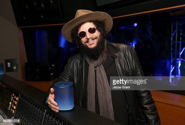 Don Was President of Blue Note Records poses with the Blue Note Limited Edition Sonos speaker as Sonos and Blue Note Records celebrate 75 years of...