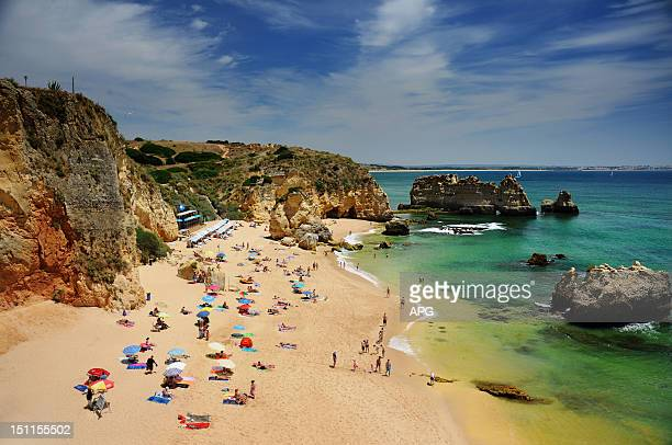 Dona Ana beach in Algarve