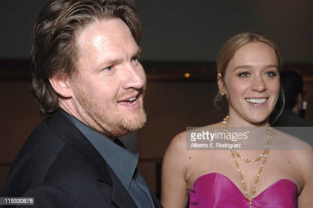 Donal Logue and Chloe Sovigny during 'Zodiac' Los Angeles Premiere Arrivals at Paramount Studios in Hollywood California United States