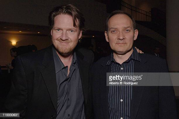 Donal Logue and Zach Grenier during Zodiac Los Angeles Premiere Arrivals at Paramount Studios in Hollywood California United States
