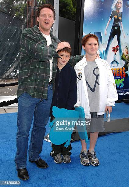 Donal Logue arrives at the Los Angeles premiere of Monsters vs Aliens at the Gibson Amphitheatre on March 22 2009 in Universal City California