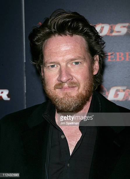 Donal Logue during 'Ghost Rider' New York City Premiere Red Carpet at Regal EWalk in New York City New York United States
