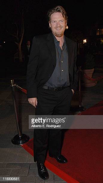 Donal Logue during Zodiac Los Angeles Premiere Arrivals at Paramount Studios in Hollywood California United States