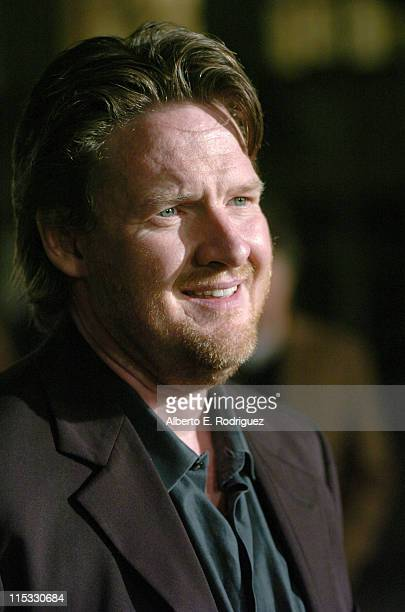 Donal Logue during 'Zodiac' Los Angeles Premiere Arrivals at Paramount Studios in Hollywood California United States