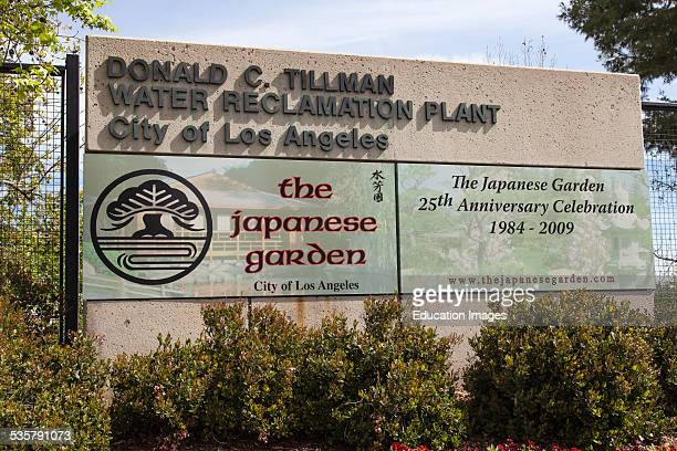 Donald C Tillman Water Reclamation Plant and Japanese Gardens Van Nuys California USA