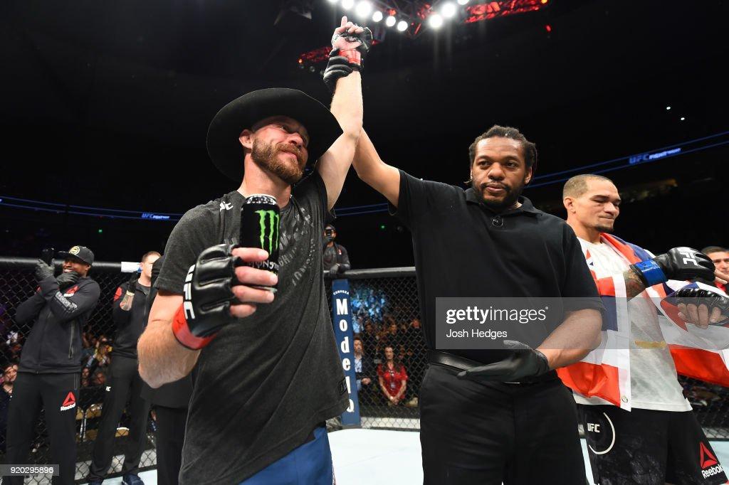 UFC Fight Night: Cowboy v Medeiros : News Photo