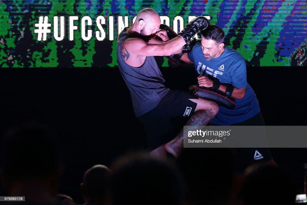 UFC Fight Night Cowboy v Edwards: Open Workouts
