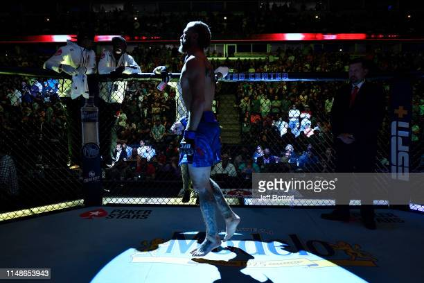 Donald Cerrone stands in his corner prior to his lightweight bout against Tony Ferguson during the UFC 238 event at the United Center on June 8 2019...