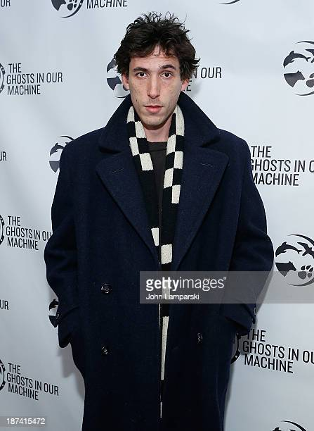 """Donald Cumming attends The Ghost In Our Machine"""" New York Screening at Village East Cinema on November 8, 2013 in New York City."""