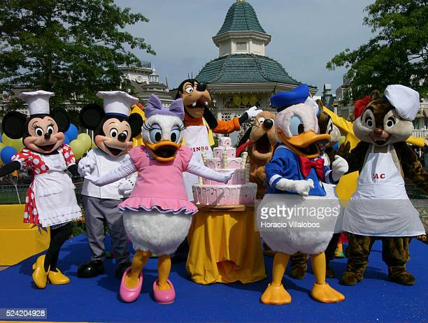 Donald Duck the creation of Walt Disney turned 70 on June 9 A birthday party was organised for the occasion at Disneyland Resort near Paris Donald...