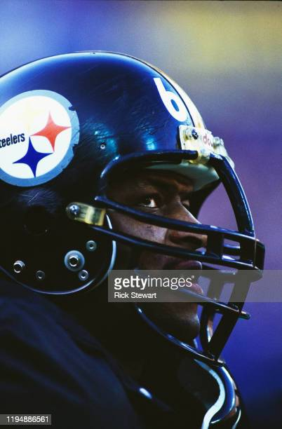 Donald Evans Defensive End for the Pittsburgh Steelers during the National Football Conference Central game against the Minnesota Vikings on 20th...
