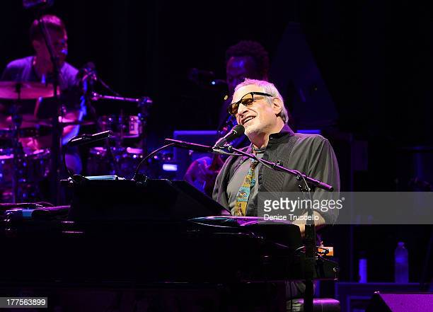 Donald Fagen of Steely Dan performs at Pearl at The Palms on August 23 2013 in Las Vegas Nevada