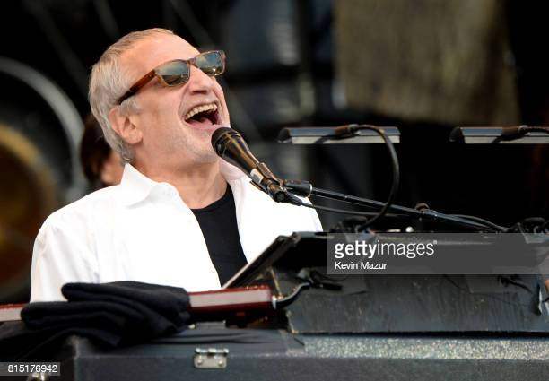 Donald Fagen of Steely Dan performs onstage during The Classic West at Dodger Stadium on July 15 2017 in Los Angeles California
