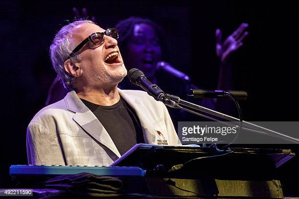 Donald Fagen performs of Steely Dan onstage at Beacon Theatre on October 10 2015 in New York City