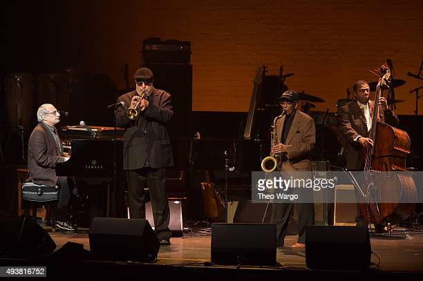 Donald Fagen Randy Brecker and Billy Harper perform at The Jazz Foundation of America Presents the 14th Annual 'A Great Night in Harlem' Gala Concert...