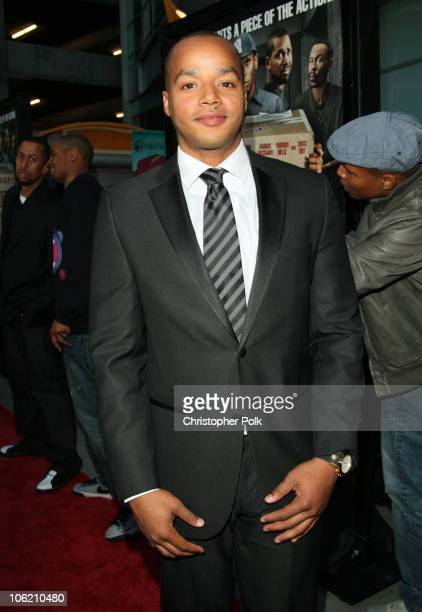 Donald Faison arrives to a special Los Angeles screening of Next Day Air at ArcLight Cinemas in Hollywood CA on April 29 2009