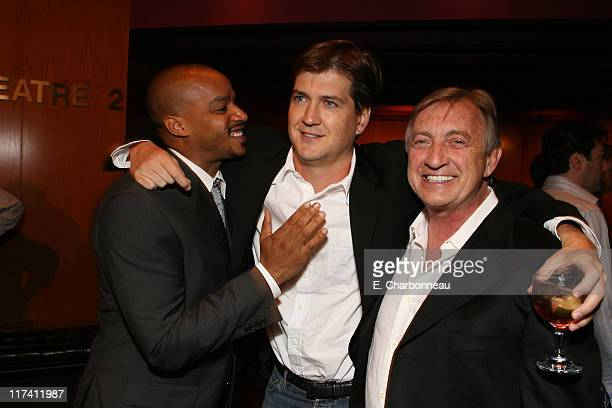Donald Faison Bill Lawrence and Ken Jenkins during Los Angeles Premiere of DreamWorks The Last Kiss at Director's Guild of America in Los Angeles CA...
