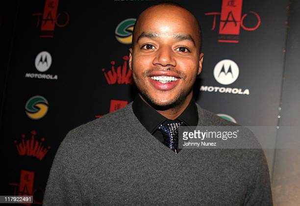 Donald Faison during 2007 NBA AllStar in Las Vegas Jay Z and Lebron James' First Annual Two Kings Dinner and Party at TAO at TAO in The Venetian in...