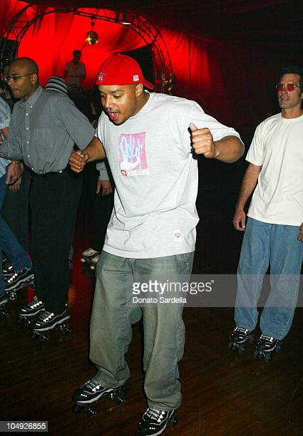 Donald Faison during 4 Wheelers By Skechers Party at The Hollywood Palladium in Hollywood California United States