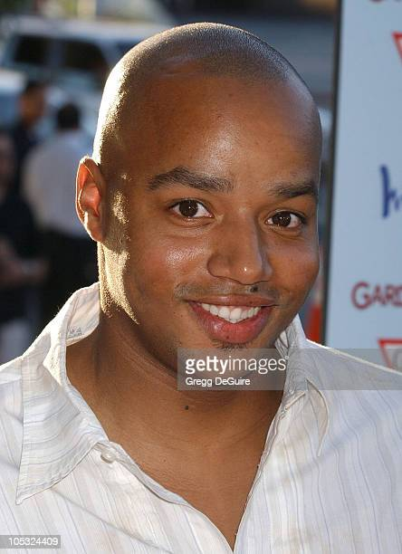 Donald Faison during Garden State Los Angeles Premiere Arrivals at Director's Guild of America in Hollywood California United States