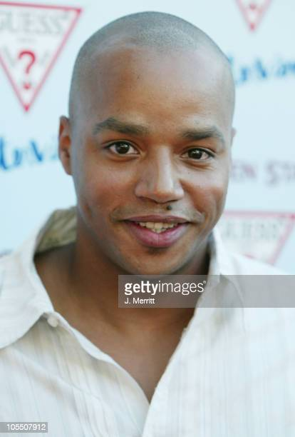 Donald Faison during Garden State Los Angeles Premiere Arrivals at Directors Guild of America in Los Angeles California United States