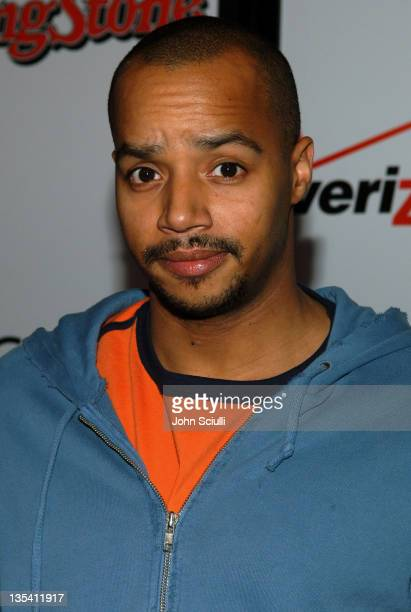 Donald Faison during Rolling Stone/Verizon Wireless PreGRAMMY Concert with Kanye West Arrivals at Spider Club in Hollywood California United States