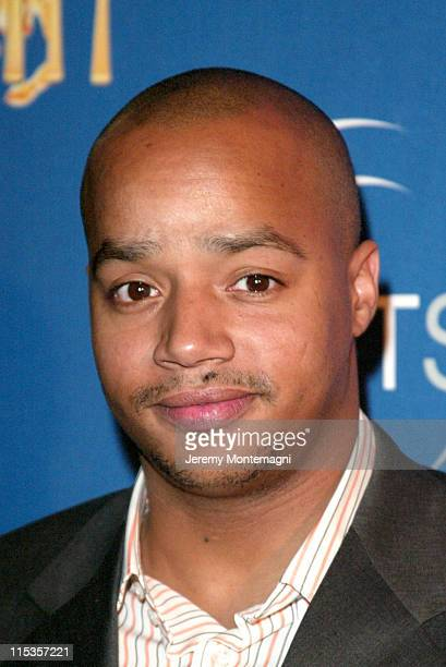 Donald Faison during The Hollywood Radio And Television Society's 1st Annual Roast In Honor Of Jeff Zucker at Century Plaza Hotel in Century City CA...