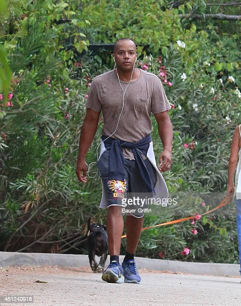 #Donald Faison is seen in Los Angeles on June 25 2014 in Los Angeles California