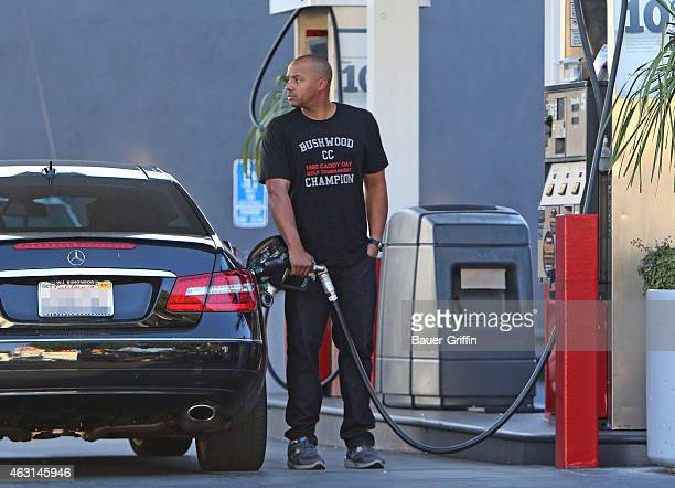 Donald Faison is seen on February 10 2015 in Los Angeles California