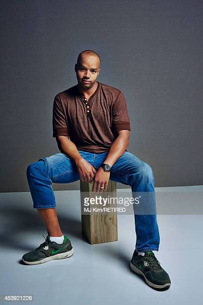 Donald Faison poses for a portrait at the Getty Images Portrait Studio powered by Samsung Galaxy at ComicCon International 2014 on July 24 2014 in...