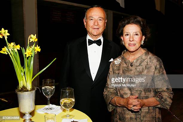 Donald Fox and Ana Clemencia Fox attend New York City Opera's SPRING GALA Henry Purcell's KING ARTHUR at New York State Theater on March 5 2008 in...