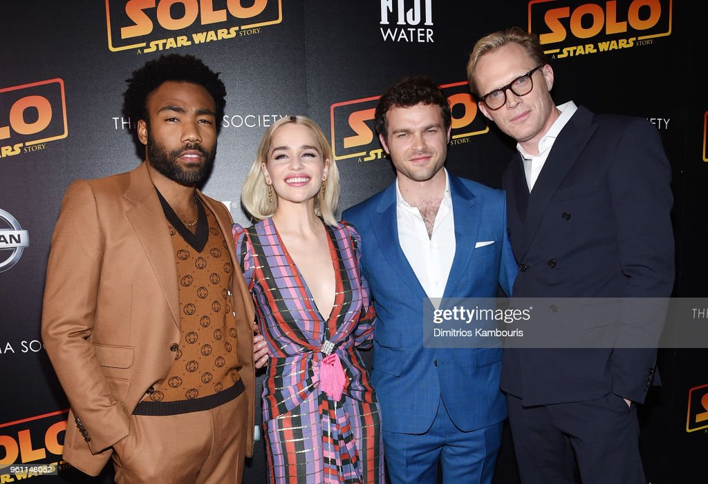 "The Cinema Society With Nissan & FIJI Water Host A Screening Of ""Solo: A Star Wars Story"" - Arrivals"