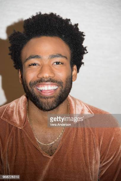 """Donald Glover at the """"Solo: A Star Wars Story"""" Press Conference at The Pasadena Convention Center on May 12, 2018 in Pasadena, California."""