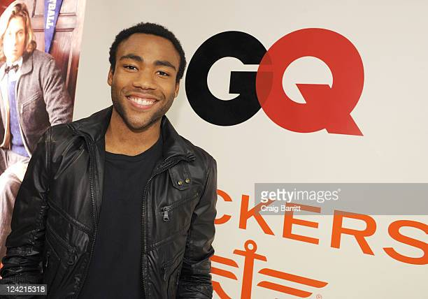 Donald Glover atends GQ + Bloomingdale's celebration of men's style at Fashion's Night Out at Bloomingdale's 59th Street Store on September 8, 2011...