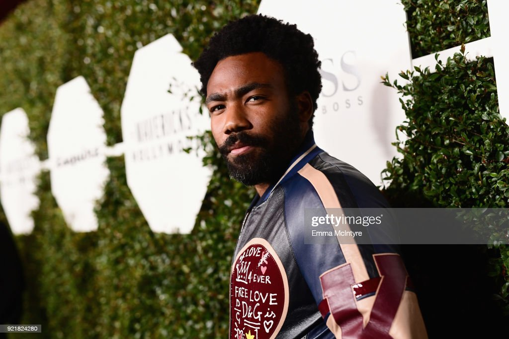Donald Glover attends Esquire's 'Mavericks of Hollywood' Celebration presented by Hugo Boss on February 20, 2018 in Los Angeles, California.