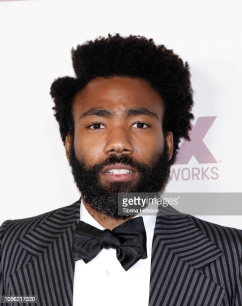 Donald Glover attends FOX Broadcasting Company, FX, National Geographic and 20th Century Fox Television 2018 Emmy Nominee Party at Vibiana on...