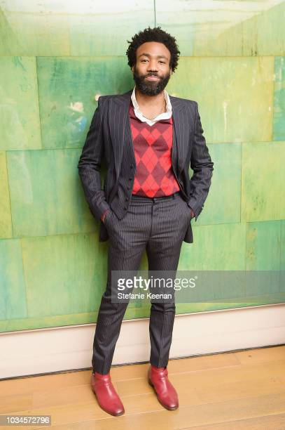 Donald Glover attends FX Networks celebration of their Emmy nominees in partnership with Vanity Fair at Craft on September 16 2018 in Century City...